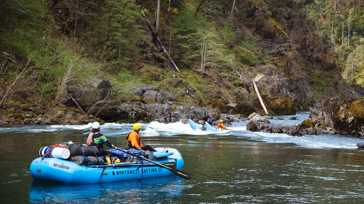 Rafting Oregon's Illinois River