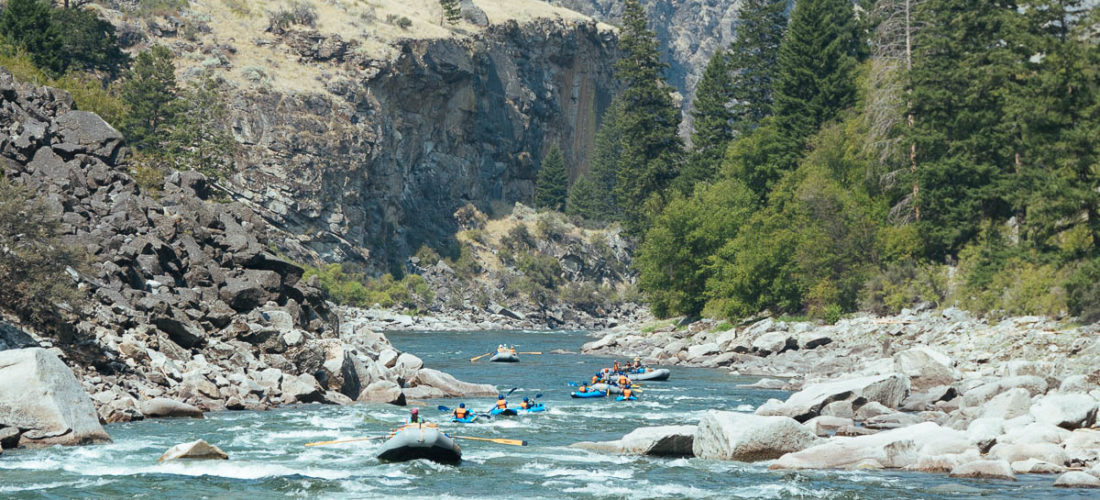 Rafting and Kayaking the Middle Fork of the Salmon River