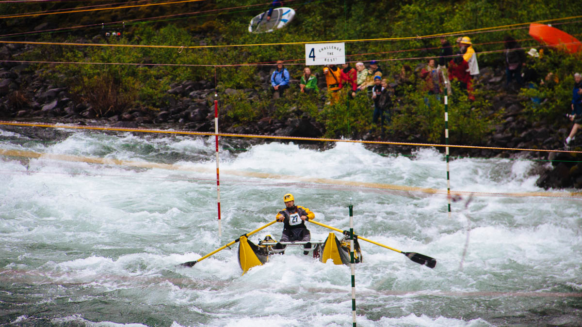 Cataraft at the Upper Clackamas Whitewater Festival