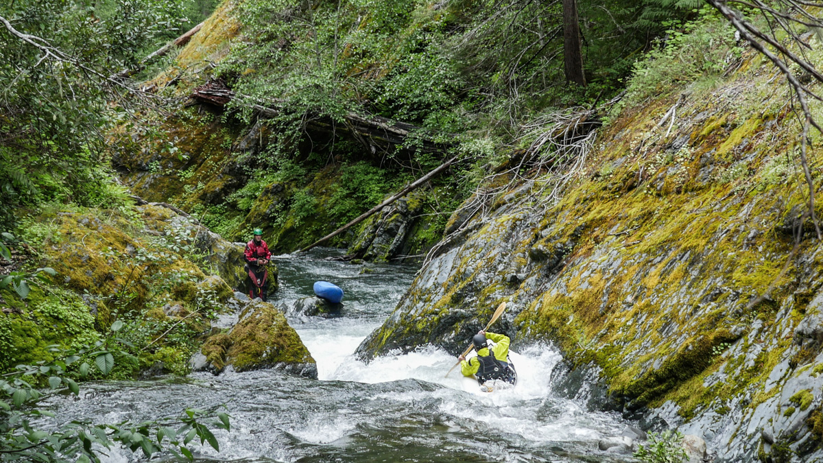 Adventure Paddling on Indigo Creek