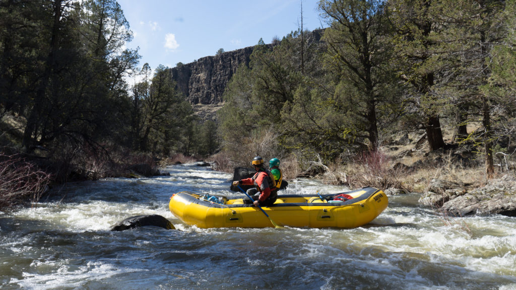 SOTAR Raft on the North Fork of the Owyhee River