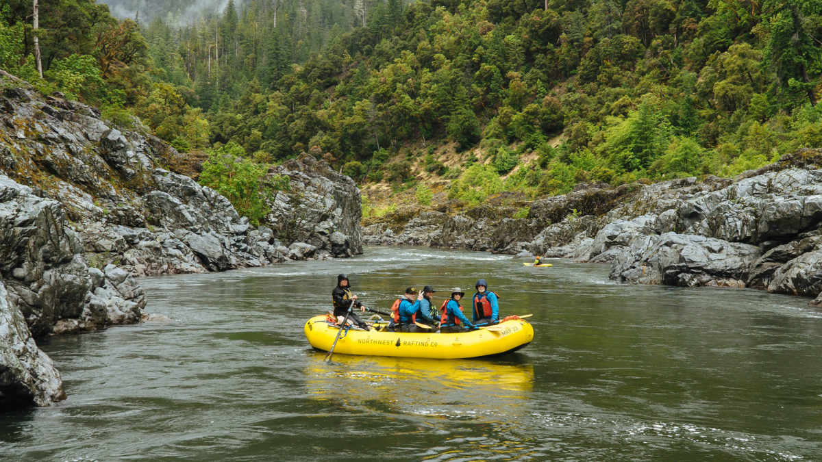 Cold Weather on the Rogue River